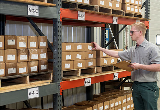 Parts Inventory Management - R&H Machine Products